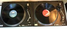 "2 X SOUNDLAB DLP1R TURNTABLES & 10 X DANCE 12"" VINYL RECORDS - DECKS PARTY DJ"