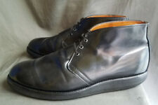 Mens Vintage 1980s Black Leather RED WING POSTMAN 9196 Union Chukka Boots Sz-13D