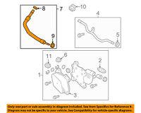 Chevrolet GM OEM 14-16 Corvette 6.2L Transmission Oil Cooler-Inlet Hose 22768504