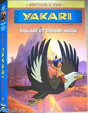 2 DVD ENG. & FR. Zone 1  YAKARI et Grand aigle, le grizzly + 24 autres histoires