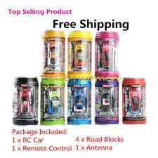 1:63 Coke Can Mini Speed RC Radio Remote Control Micro Racing Car Toy Gift WX