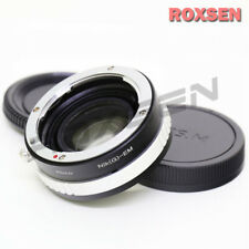 Focal Reducer Speed Booster Adapter Nikon F mount G lens to Canon EOS M EF-M M5