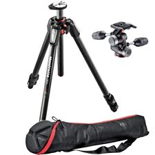 Manfrotto MT055CXPRO3 Carbon Fiber Tripod with MHXPRO-3W 3-Way Head w/ carry bag