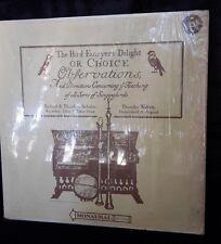 Richard & Theodora Schulze, Dorothy Walters – (1972) Bird Fancyer's Delight LP