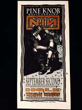 Nine Inch Nails-Marilyn Manson-Hole-Concert Handbill-Arminski Silkscreen