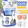 Nicefeel Water Jet Dental Teeth Flosser Electric Oral Irrigator Cleaner 7 Picks
