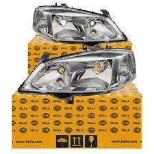Hella Scheinwerfer Set Satz Opel Astra G Bj. 98-09 H7/HB3 für elektr. LWR