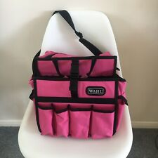 Wahl Hairdresser & Dog Groomer's Carry Bag for Clippers, Trimmers, Shampoo Pink