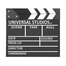 Neewer 30x27cm Ciak Cinematografico in Legno Azione Film Strisce in Bianco Nero