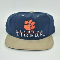 Clemson Tigers Vintage 90's NCAA YA Youngan Hat Co. Adjustable Strapback Cap Hat