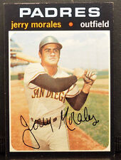 1971 Topps High Number #696 JERRY MORALES San Diego Padres EX+
