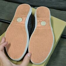 Polka dot Fred Perry plimsoles
