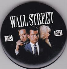 """Anstecker zum Film """"Wall Street"""" (USA, 1987) Charly Sheen Michael Douglas rar"""