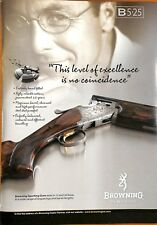 Original Vintage Browning Rifle Advert from Gamewise Magazine Spring 2009