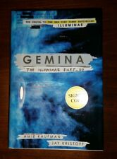 New Gemina Hardcover Signed By Both Authors 1st Edition 1st Print Amie Kaufman