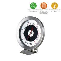 Salter Oven Thermometer – 50°C - 300°C, Stainless Steel Body, Bi-Metal Sensors