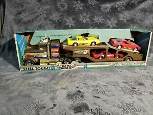Nylint No 350-K Vintage Muscle Mover Semi Tractor Trailer Transporter Corvettes