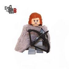Custom Game of Thrones Ygritte Minifigure. Made using LEGO & custom parts.