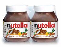 2 HUGE NUTELLA Ferrero HAZELNUT SPREAD with Milk & Cocoa 25.6 oz FAST SHIP