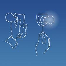 Lot De 2 Ampoule Lumière Sans Fils Ni Vis Batterie Transportable Incassable Neuf
