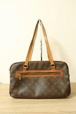 Authentic Louis Vuitton Monogram Cite GM Shoulder Bag #7112