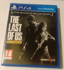 THE LAST OF US Rimasterizzato PS4 usati REGNO UNITO PAL Sony PlayStation 4 (impressionante 4K Pro)