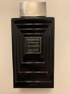 Lalique Hommage A L'Homme Voyageur EDT 3.3 Oz *RARE* *99% Full*