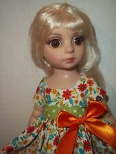 """Sweet dress made to fit 10"""" Patsy  Ann Estelle  Tonner  9"""