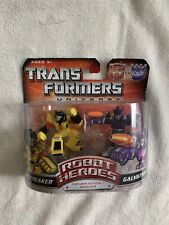 Hasbro Transformers Universe Robot Heroes Gen. 1 Sunstreaker & Galvatron New