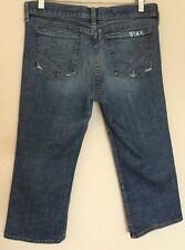 JUICY COUTURE Capri Cropped Denim Jeans Size 31
