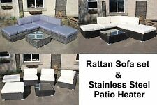 Rattan Up to 8 Seats Garden & Patio Furniture Sets