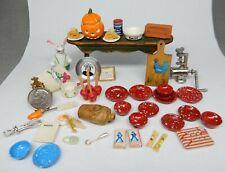 Vintage Dollhouse Accessories Lot 4 Dollhouse Miniature 1:12