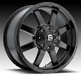 FUEL D545 'FRONTIER' OFF-ROAD WHEEL RIM SATIN BLACK TOYOTA TUNDRA SEQUOIA  5X150