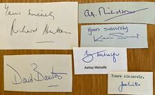 Cricket - 6 post war Yorkshire autographs
