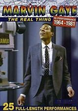The Real Thing: In Performance 1964-1981 [Motown DVD] by Marvin Gaye (DVD,...