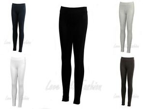 omens Leggings Full Length Ladies Dance Pants Brody & Co Gym Stretch Cotton