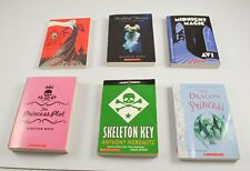 Lot Of 6 Young Adults Scholastic Books Distant Waves Robe Of Skulls Dragon