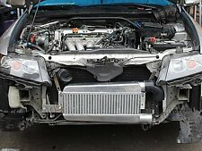 Turbo Intercooler Kit for 04-08 Acura TSX K24 T04E Manifold Downpipe Black