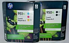 Genuine HP Office Jet 950XL/951 Combo Packs Expired Black May & Color Sept. 2019