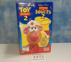 New 1999 Hasbro Playskool Disney Pixar Mrs Potato Head Toy Story 2 Tater Toy
