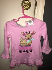 Rare Editions reindeer outfit 3T