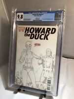 Howard The Duck #1 CGC 9.8 1st Gwenpool Appearance Lim Sketch Cover HOT KEY