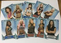 2019 WOMEN'S DIVISION WRESTLING CARDS BASE SET 1-100 U PICK WHAT U NEED