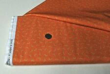 New listing Michael Miller quilt-craft fabric Fright Night orange 2 yds (dc-8937)Howl-o-ween