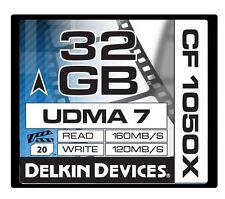 32GB Compact Flash UDMA 7 Cinema Quality Memory Card - 160MB/s.