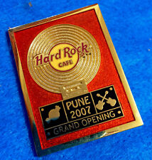 PUNE INDIA GRAND OPENING RECORD DISC CASSETTE FRAMED AWARD Hard Rock Cafe PIN