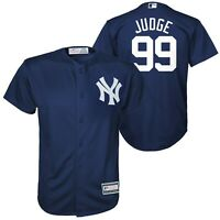 Aaron Judge New York Yankees YOUTH  Jersey Size S M L XL Majestic Cool Base -New