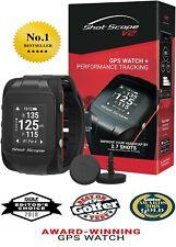 Award Winning Shot Scope V2 Golf GPS Watch and Performance Tracker