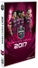 STATE OF ORIGIN 2017 COMPLETE Series DVD QUEENSLAND RUGBY LEAGUE BRAND NEW R4