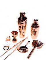 Kit Barman 7 pezzi colore Rame Vintage Lumian Black01 Bartender